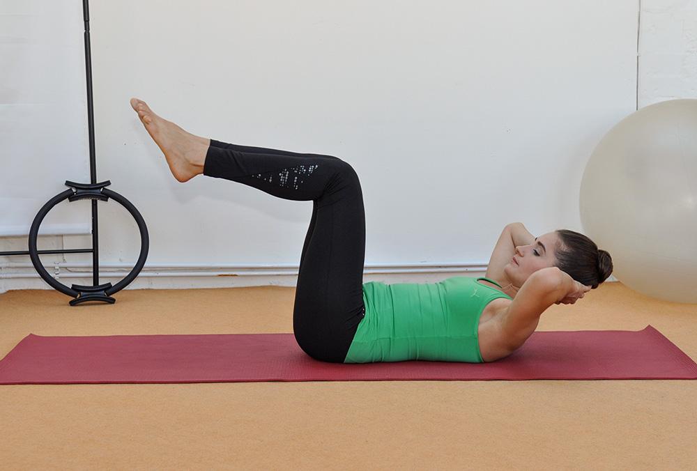 Kräftigungsübungen beim Pilates Training