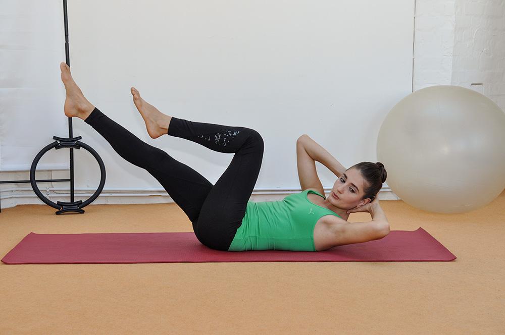 Stärkung schwacher Muskel Gruppen
