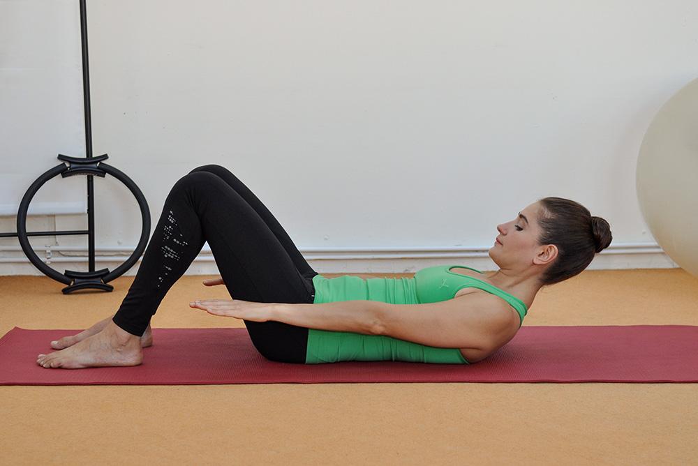 Körperliches Wohlbefinden durch Pilates Training