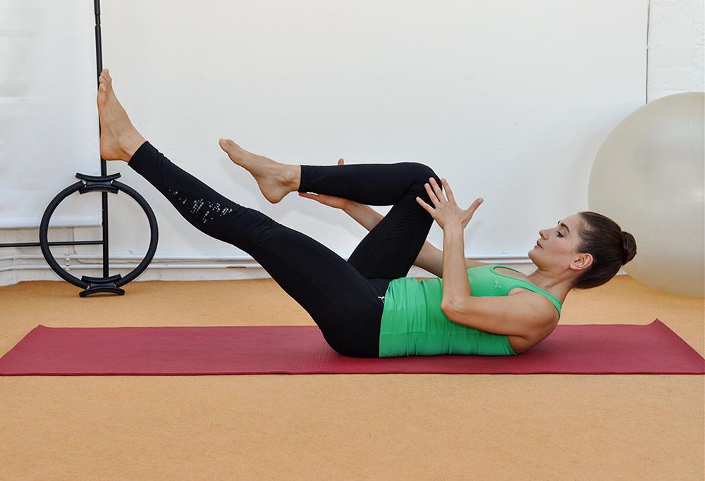 Kräftigung der Muskulatur durch Pilates Training
