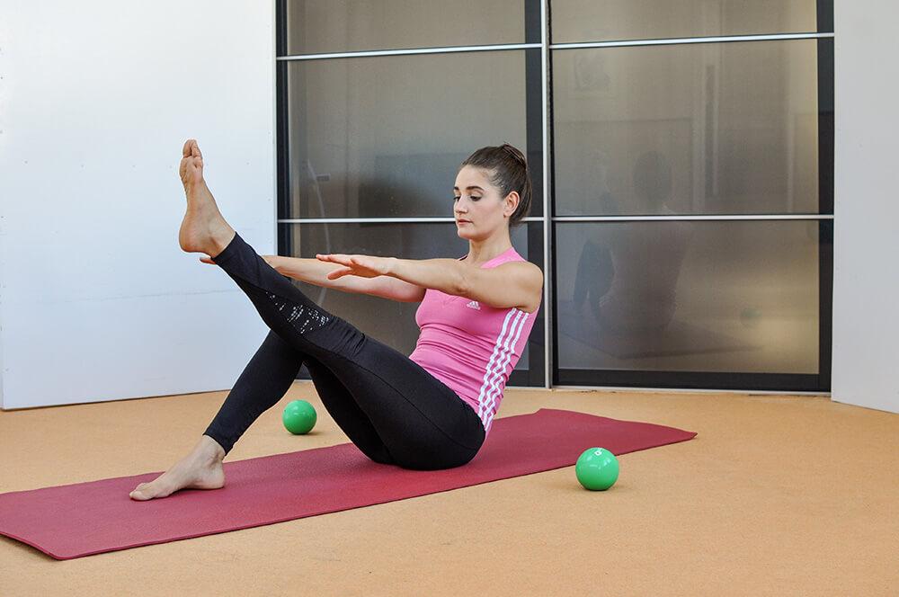 Effektives Training durch Pilates